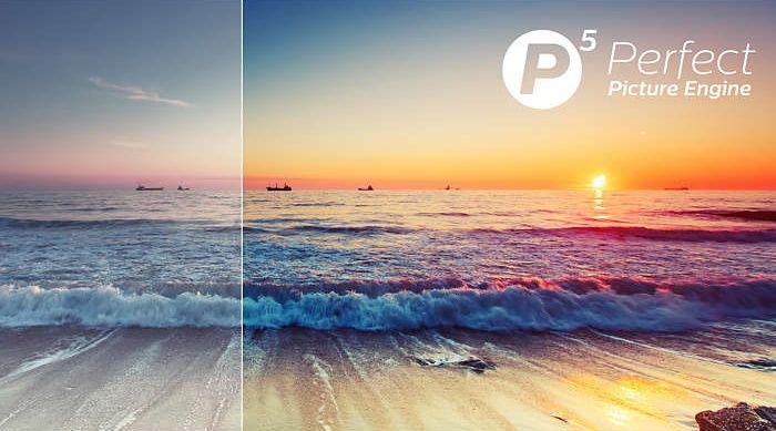 Philips Engine Philips P5, Ultra HD 4K, detaily, kontrast, barvy, pohyb