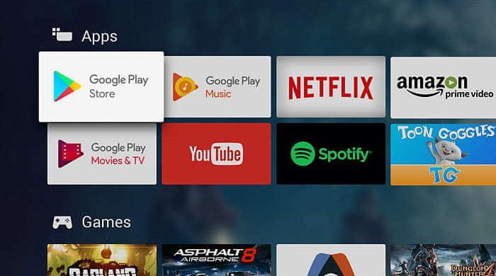 Philips Google Play, aplikace Philips, online filmy, tv pořady, hudba, hry, aplikace, android tv