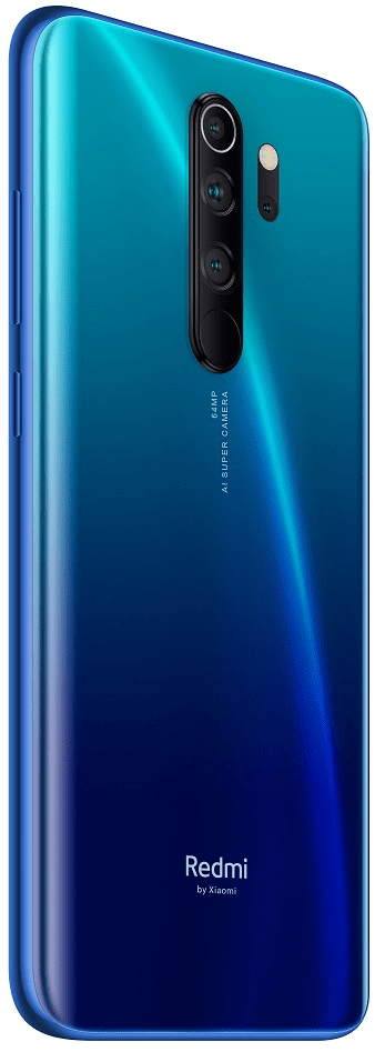 Xiaomi Redmi Note 8 Pro, 6GB/128GB, Global Version, Blue - rozbaleno