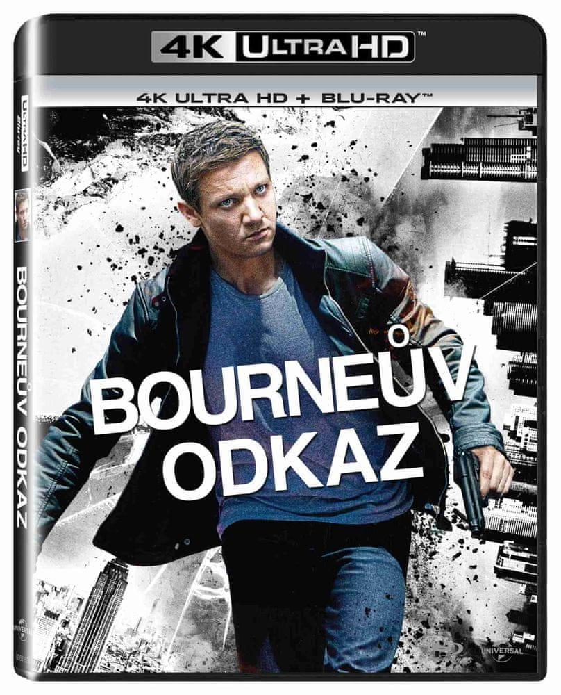 BOURNEŮV ODKAZ (4K ULTRA HD) - UHD Blu-ray + Blu-ray (2 BD)