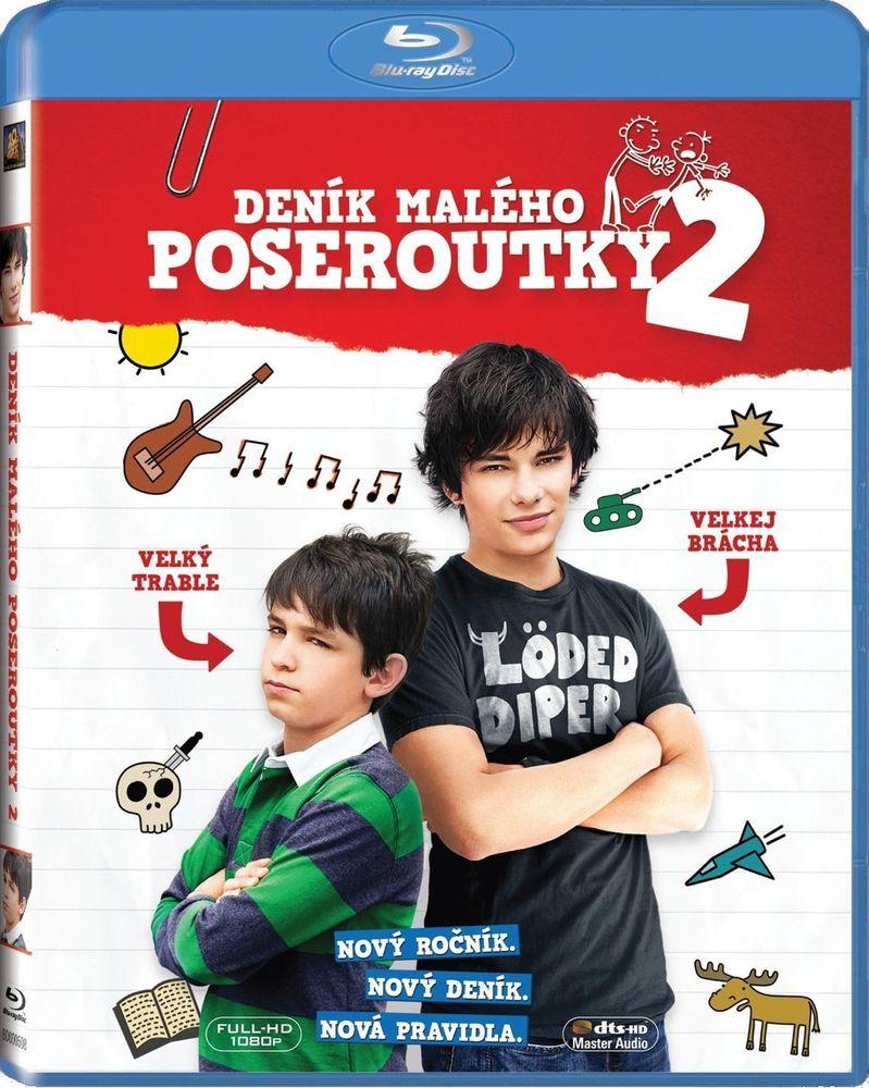 DENÍK MALÉHO POSEROUTKY 2 - Blu-ray