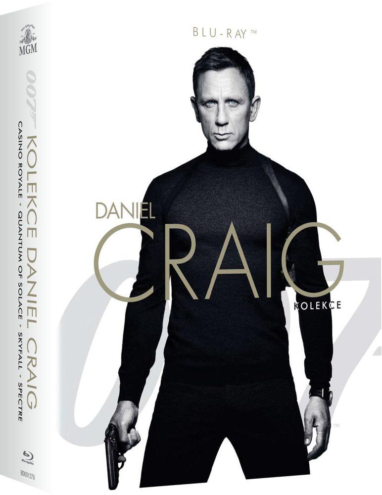 JAMES BOND: DANIEL CRAIG (Kolekce 4 filmů) - Blu-ray