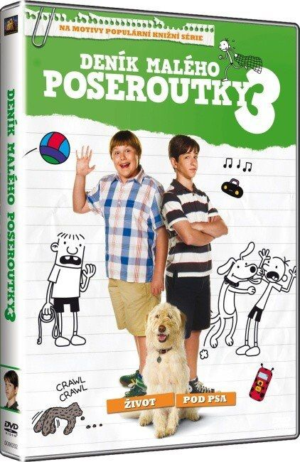 DENÍK MALÉHO POSEROUTKY 3 - DVD