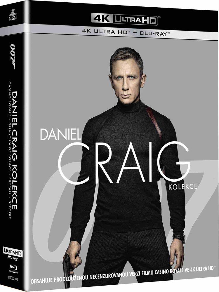 James Bond Daniel Craig kolekce (4K Ultra HD) - UHD Blu-ray + Blu-ray (8BD)