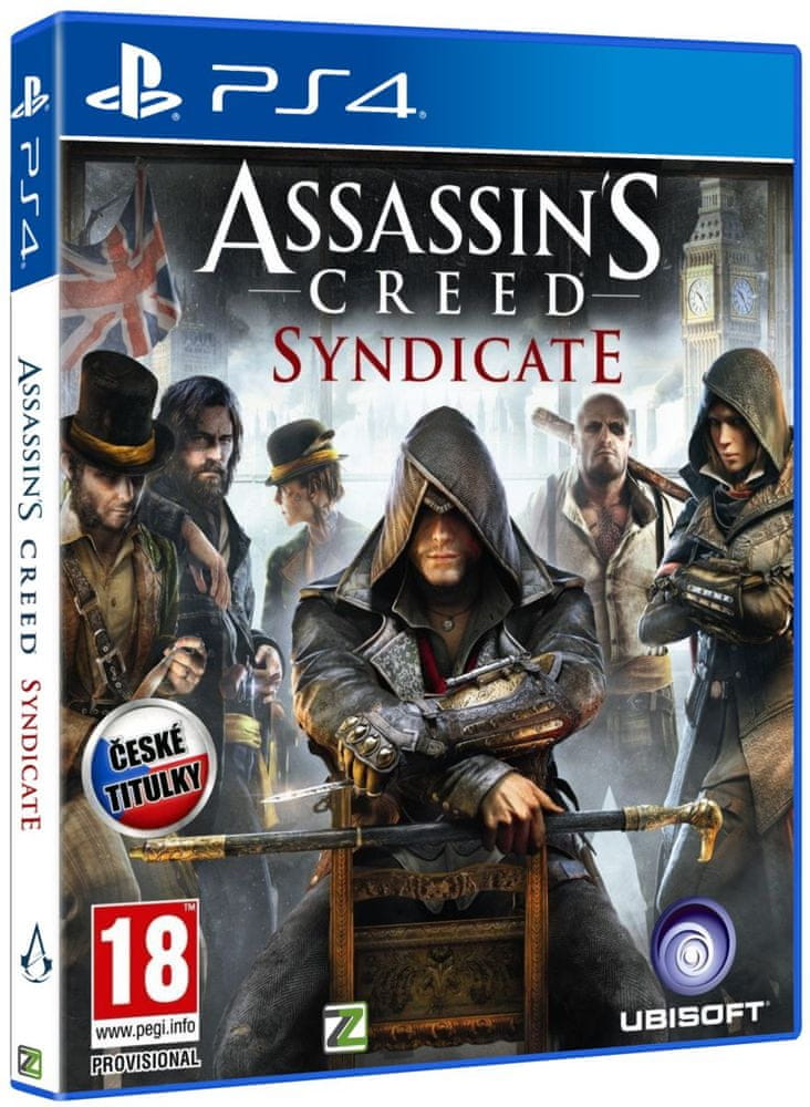 Assassins Creed Syndicate CZ - PS4