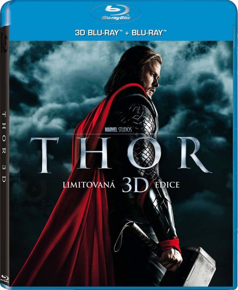 THOR 3D - Blu-ray 3D+2D (2BD)