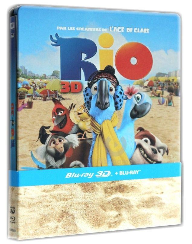 RIO - Blu-ray 3D + 2D STEELBOOK