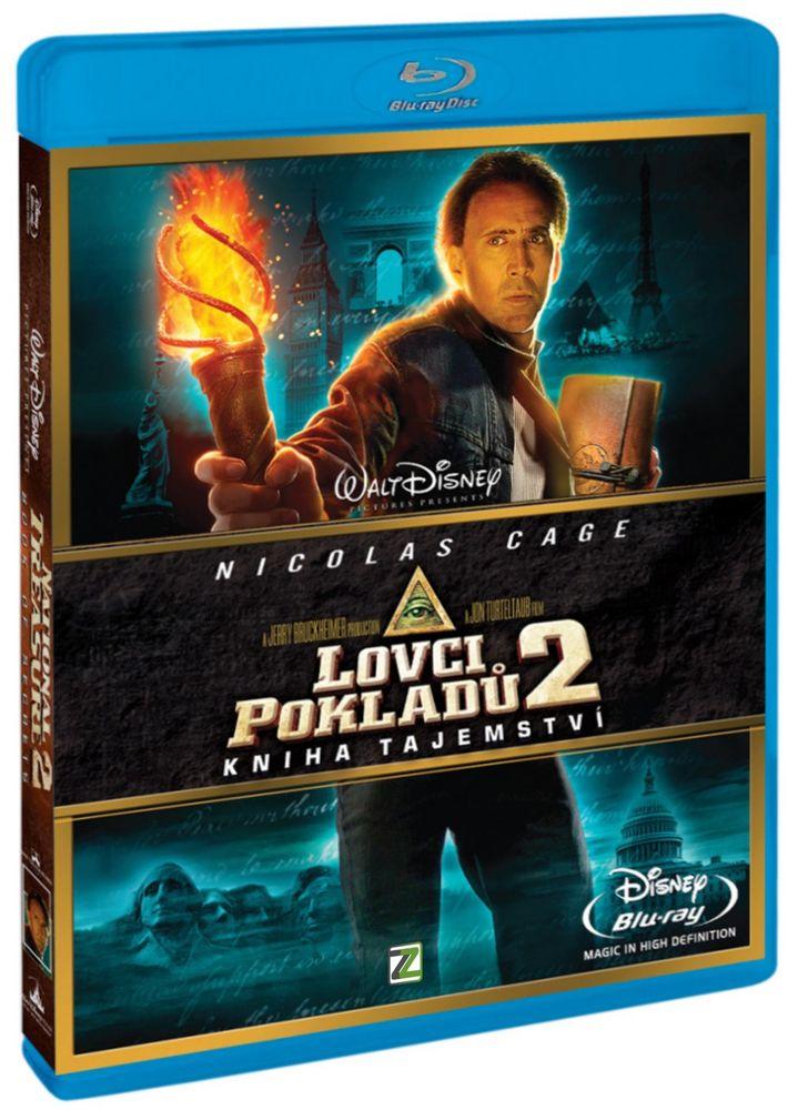 LOVCI POKLADŮ 2: KNIHA TAJEMSTVÍ - Blu-ray