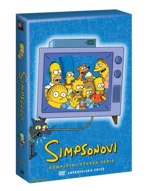 SIMPSONOVI 4. SEZÓNA - DVD