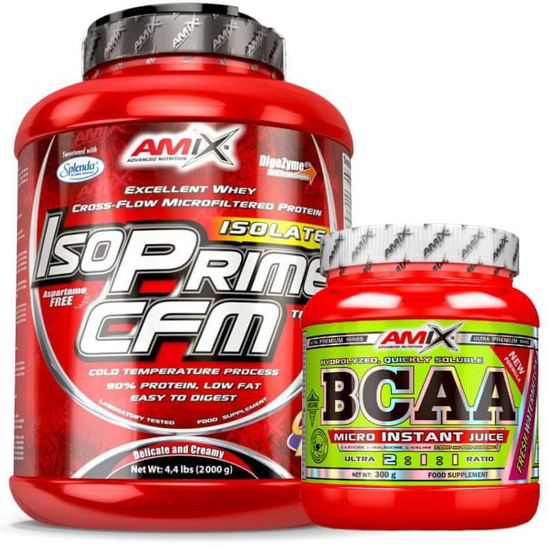Amix Nutrition IsoPrime CFM Isolate 2000 g jablko - skořice