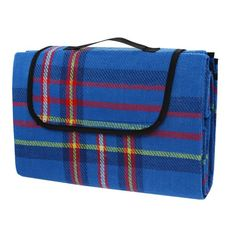Calter Relax odeja za piknik, 170 x 150 cm, modra
