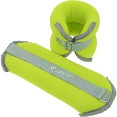 LIFEFIT uteži za gležnje, neopren, 2 x 2 kg, zelene