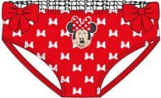 Disney Minnie lány fürdőruha alsó, 92, piros