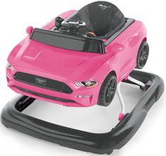 Bright Starts Chodítko 3v1 Ford Mustang Pink 6m+, do 11kg