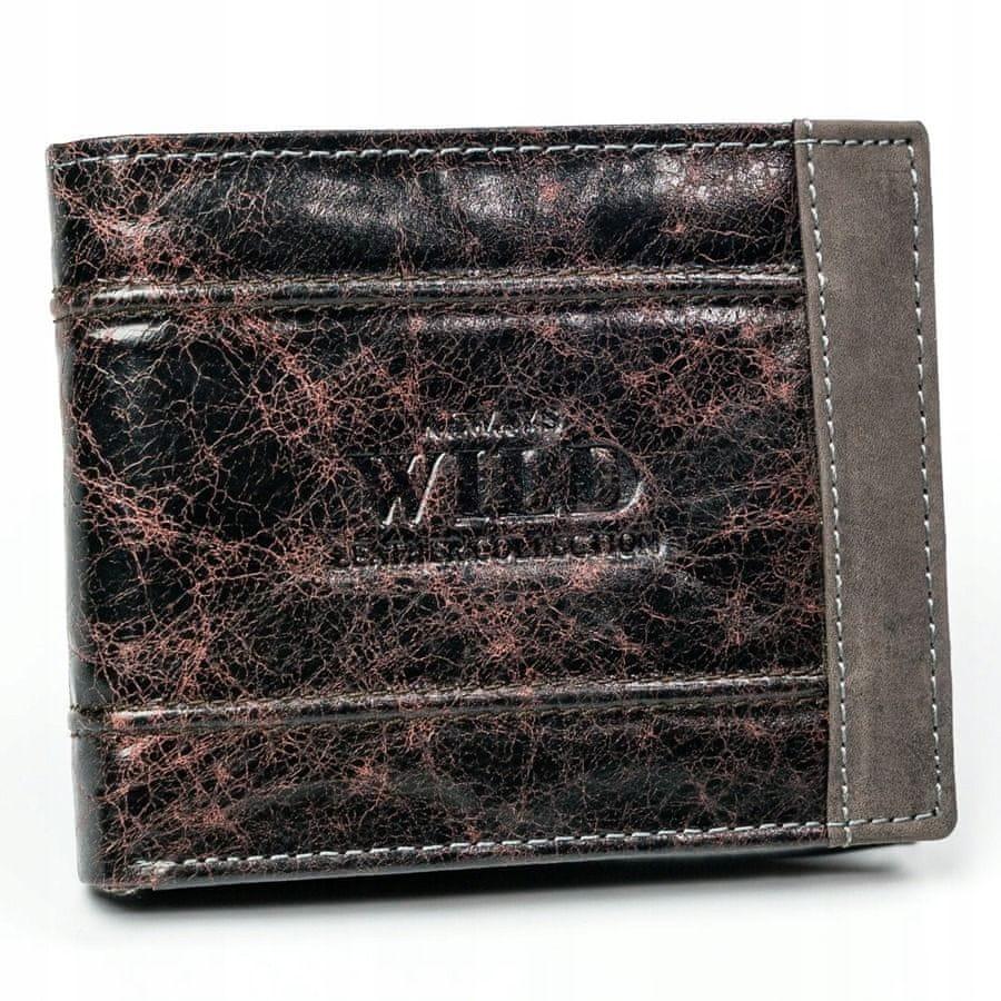 Always Wild Exkluzivní pánská peněženka Kai, hnědá
