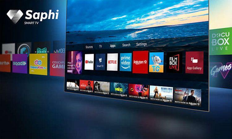 Philips 65PUS6504, SAPHI OS, Smart TV, YouTube, Netflix, Prime Video, intuitiven vmesnik, jasen, hiter.