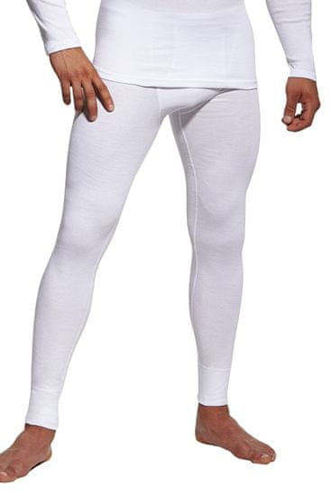 Cornette Pánské podvlékací kalhoty Authentic white - CORNETTE
