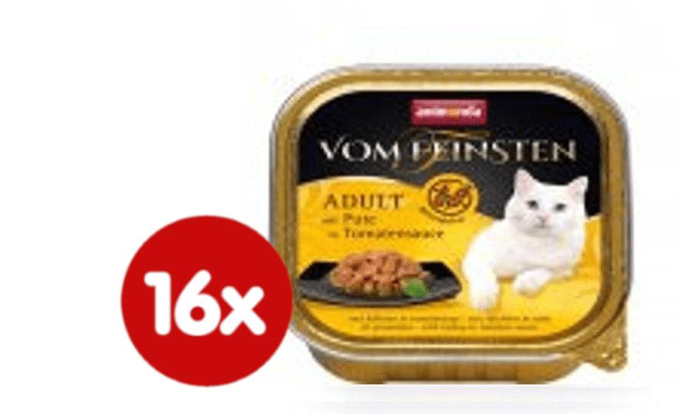 Animonda No grain adult-krůta v rajské omáčce pro kočky 16 x 100g
