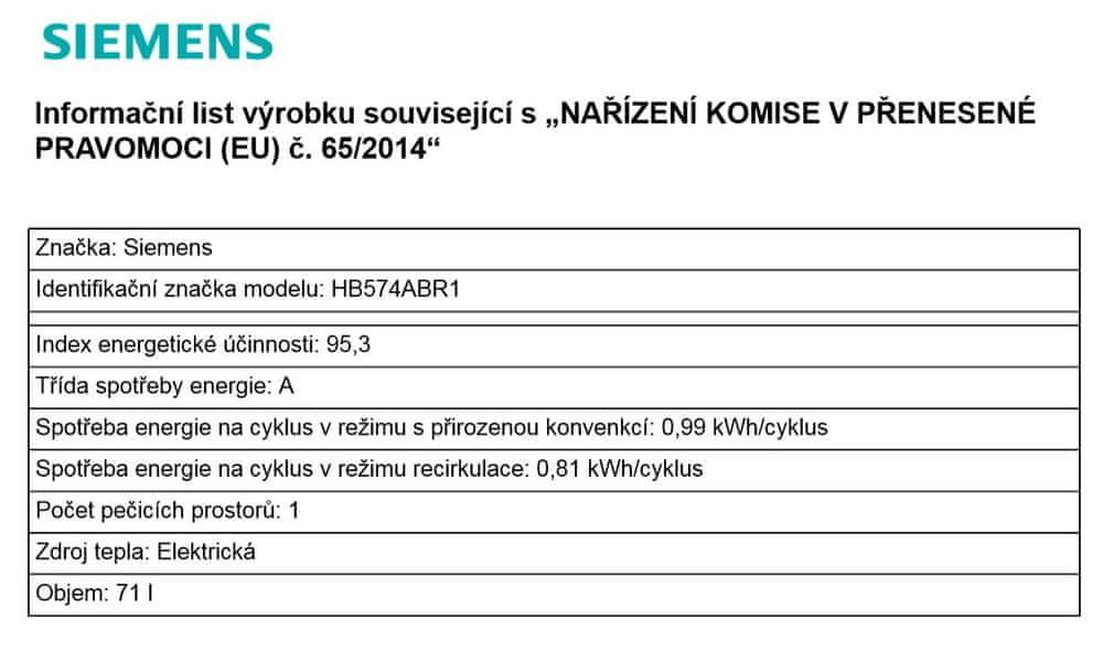 Siemens HB574ABR1