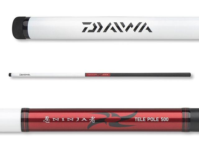 Daiwa rybářský prut Ninja Tele-Pole 4.00m