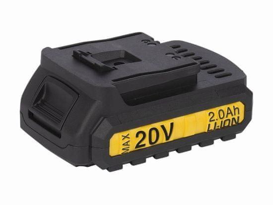 PowerPlus POWX00450 - Aku bezuhlíkový příklepový šroubovák / vrtačka 20V LI-ION 2BAT