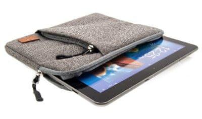 """FIXED Nylonové puzdro Campus pre tablety a netbooky do 11"""", sivá (FIXCAM-11-GR)"""