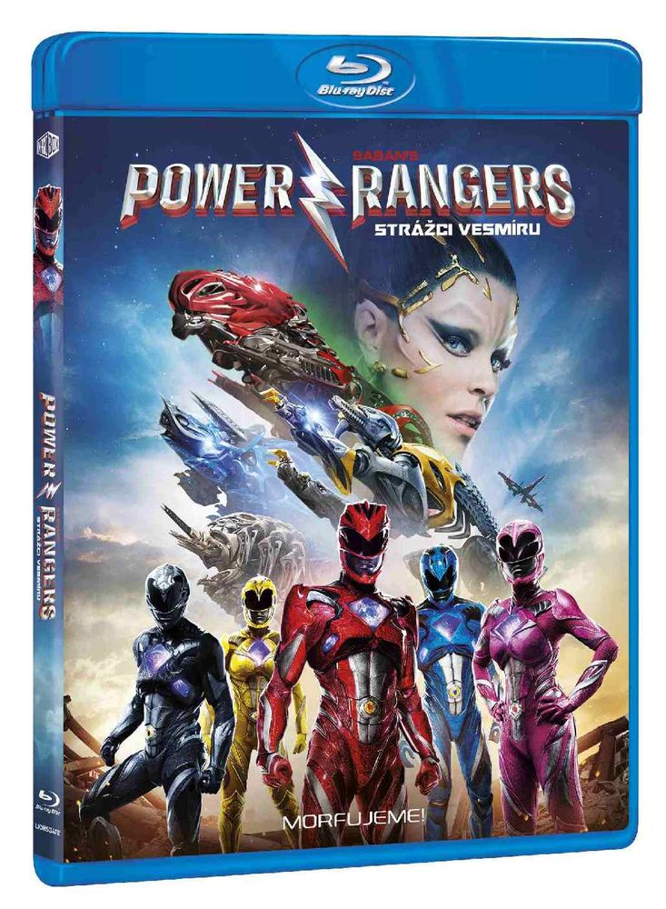 POWER RANGERS: STRÁŽCI VESMÍRU - Blu-ray