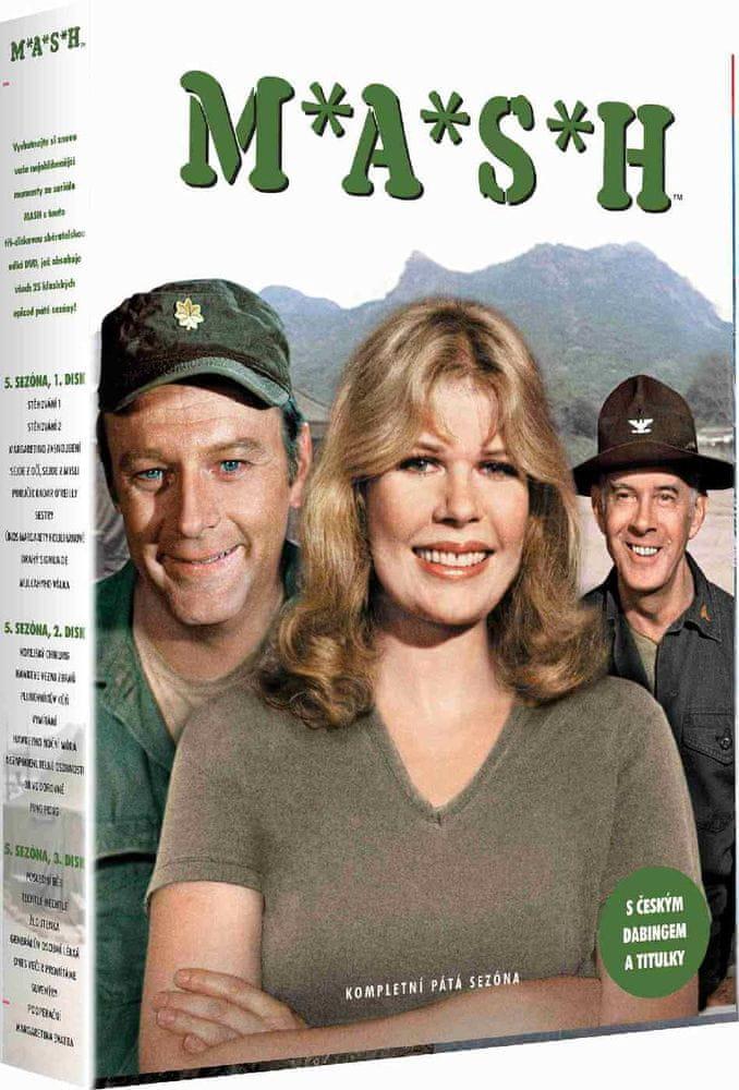 MASH (M.A.S.H.) - 5. SEZÓNA - DVD