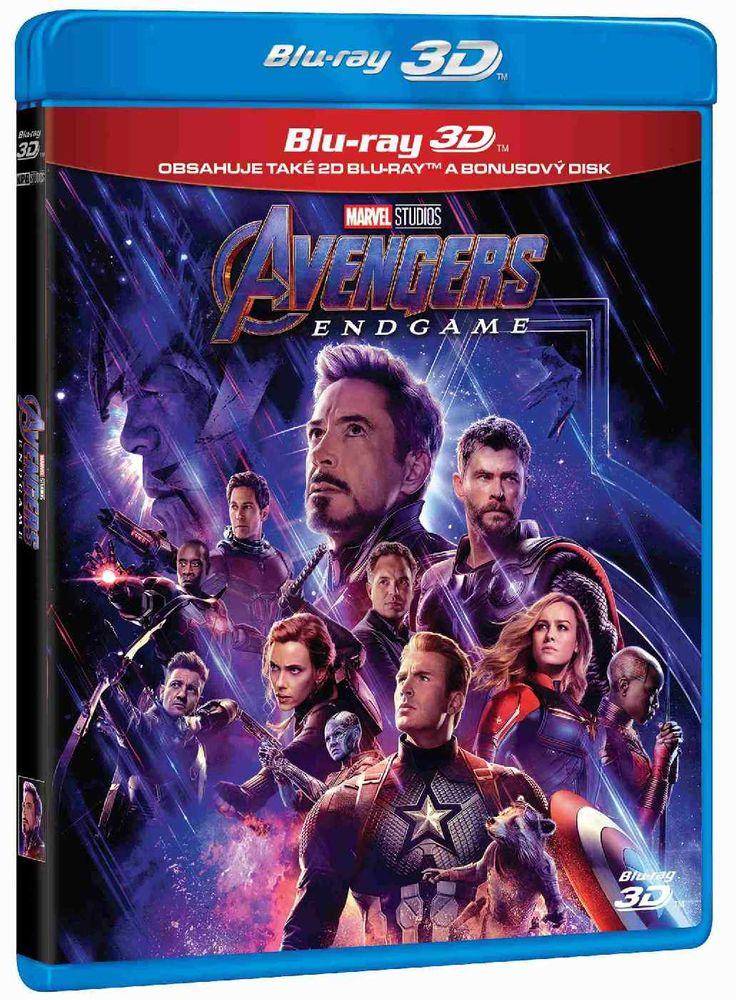 Avengers: Endgame - Blu-ray 3D + Blu-ray + Bonus Disk (3BD)
