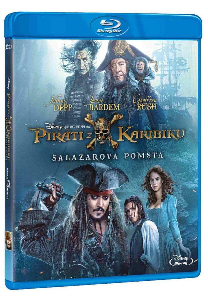 PIRÁTI Z KARIBIKU: SALAZAROVA POMSTA - Blu-ray