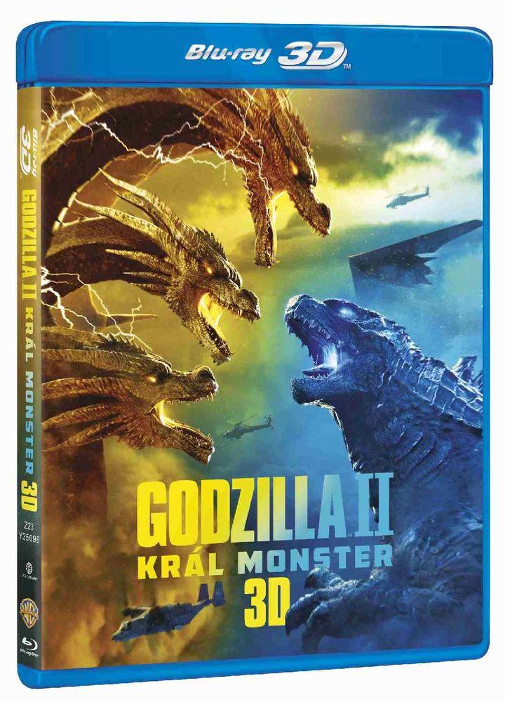 Godzilla II: Král monster - Blu-ray 3D + Blu-ray (2BD)