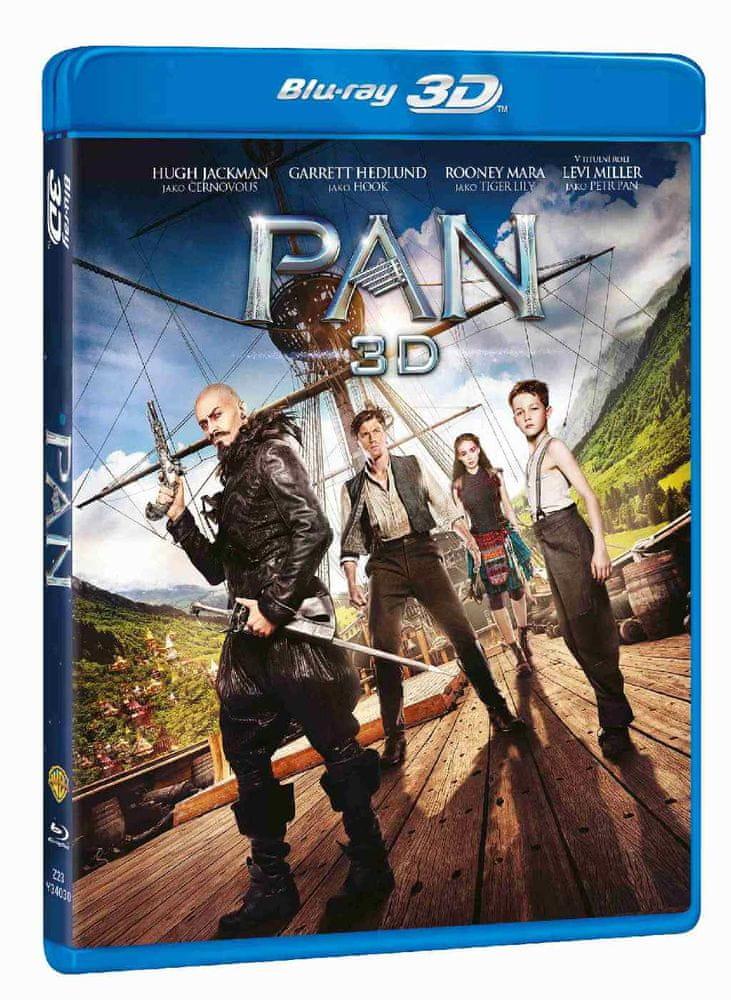 PAN - Blu-ray 3D + 2D