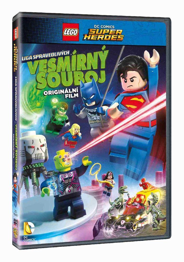 LEGO DC SUPER HRDINOVÉ: VESMÍRNÝ SOUBOJ - DVD