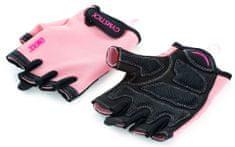 Gymstick Emotion rokavice za trening, roza, L