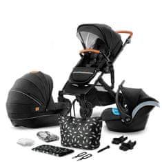 KinderKraft wózek dziecięcy PRIME 3in1 2020 black