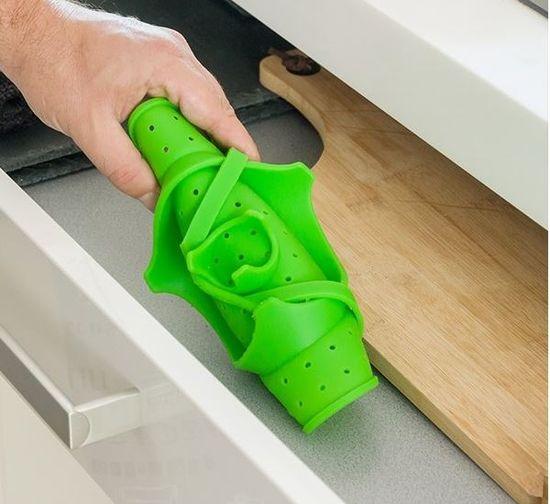 InnovaGoods parna posoda, zložljiva, silikonska (V0100435)