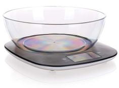 Banquet digitalna kuhinjska tehtnica CULINARIA BLACK, 5 kg, črna