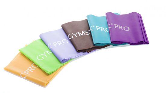 Gymstick Pro Exercise Band vadbena elastika, Heavy, rjava
