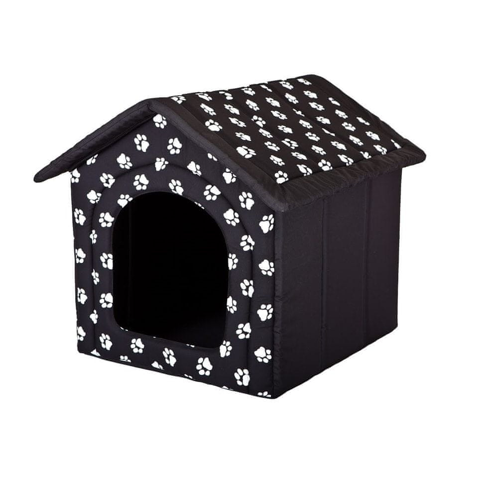 Reedog Domeček pro psa Reedog Black Paw - S