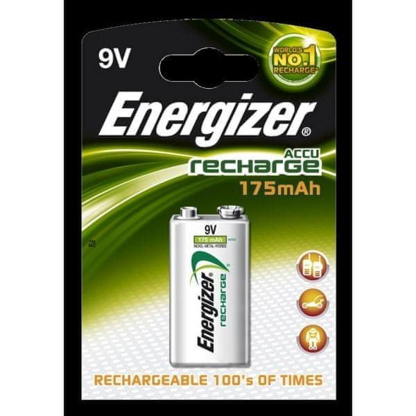 Energizer Dobíjecí baterie Energizer 9V 175 mAh