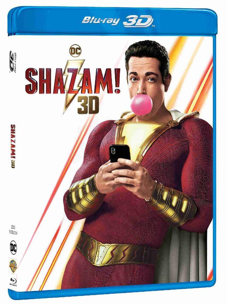 Shazam! - Blu-ray 3D + 2D (2BD)