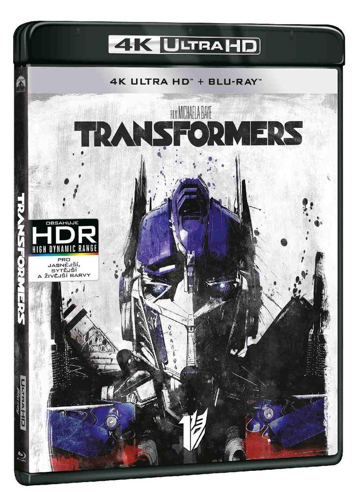 Transformers (4K Ultra HD) - UHD Blu-ray + Blu-ray (2 BD)