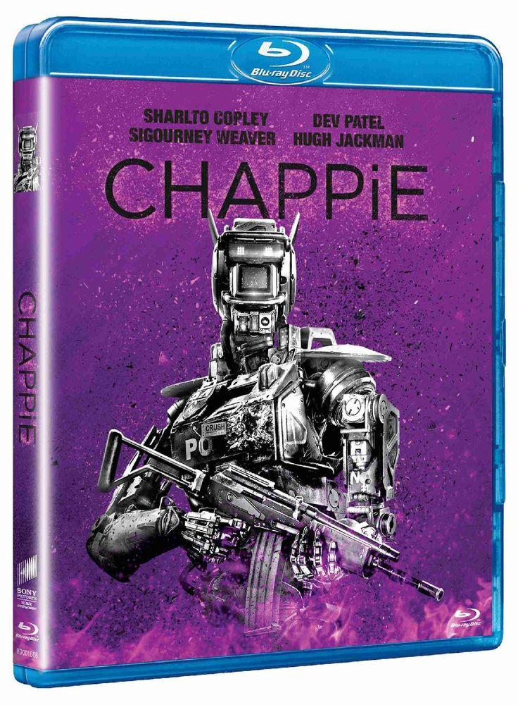 CHAPPIE (Big Face) - Blu-ray