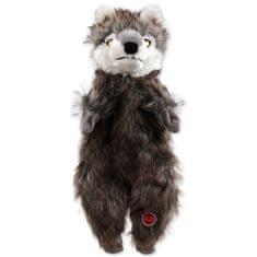 Dog Fantasy Hračka Skinneeez vlk plyšový 34 cm