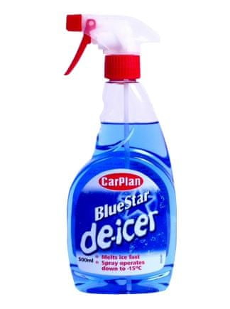 CarPlan Blue Star odmrzovalec stekel, 500 ml