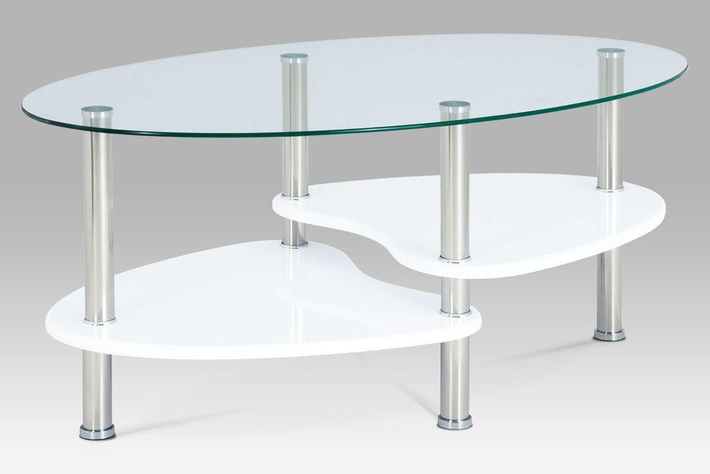 Dalenor Konferenční stolek skleněný Boris, 100 cm