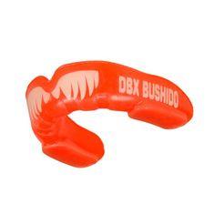 DBX BUSHIDO chránič zubů s tesáky, červený