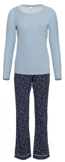 Calvin Klein dámské pyžamo QS6141E L/S Pant Set