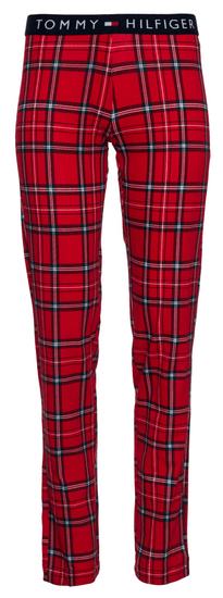 Tommy Hilfiger dámské pyžamo UW0UW01934 Jersey Set LS Print
