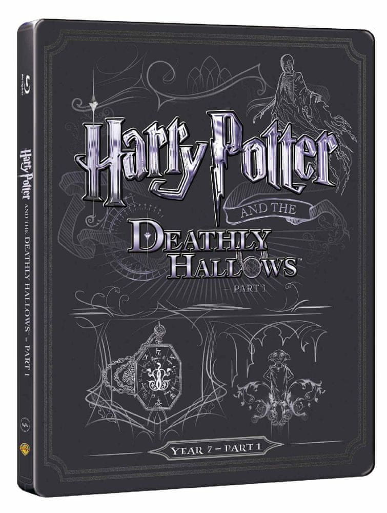 HARRY POTTER A RELIKVIE SMRTI 1. ČÁST - Blu-ray + DVD - STEELBOOK